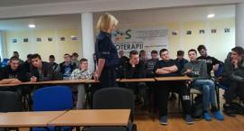 Policjanci spotkali się z wychowankami MOS w Krajence