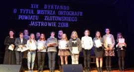XIX Dyktando o Tytuł Mistrza Ortografii Powiatu Złotowskiego Jastrowie 2018 [Wideo]