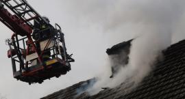 Pożar budynku mieszkalnego w Zalesiu