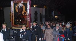 Peregrynacja kopii Obrazu Matki Bożej Częstochowskiej w gminie Łobżenica
