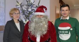 Mikołaj odwiedził Urząd Gminy w Zakrzewie