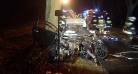 Wypadek na trasie Lipka - Czyżkowo