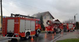 Pożar na ulicy Jeziornej