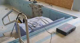 Remont niecki basenu rehabilitacyjnego na pływalni Laguna