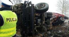 Zdarzenie z udziałem dwóch ciężarówek [Aktualizacja]