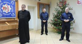 Spotkanie opłatkowe w Komendzie Powiatowej Policji w Złotowie