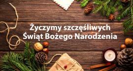 Życzymy szczęśliwych Świąt Bożego Narodzenia
