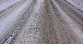 Uwaga, drogi mogą być śliskie!