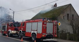 Pożar przewodu kominowego w Górznej