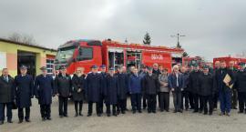 Nowy wóz strażacki oficjalnie włączony do działania bojowego