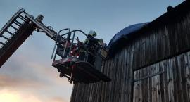 Strażacy usuwali skutki silnego wiatru w Czernicach