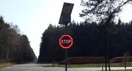 Bezpieczniej na skrzyzowaniu dróg Kujan- Sypniewo oraz Lipka- Łobżenica