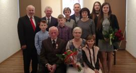 50-lecie pary małżeńskiej z Okonka