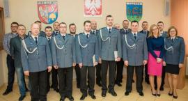 Awanse policjantów w Złotowie