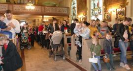 Wielkanoc blisko - święcenie pokarmów w Zakrzewie