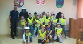 Dzieci odwiedziły złotowską komendę