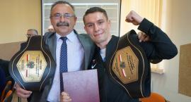 Damian Wrzesiński z Klukowa opowiada jak został Mistrzem Polski w boksie