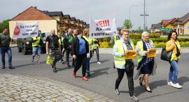 Protest przeciwko budowie chlewni w Nowym Dworze