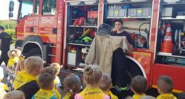 Dzieci poznały pracę strażaków