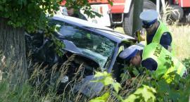 Groźny wypadek pod Starą Wiśniewką