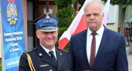Pożegnanie Dowódcy Jednostki Ratowniczo-Gaśniczej Komendy Powiatowej Państwowej Straży Pożarnej w Złotowie