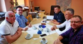 Burmistrz omówił bezpieczeństwo w gminie