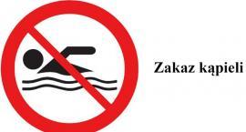 Zakaz kąpieli na plaży przy ul. Wioślarskiej w Złotowie