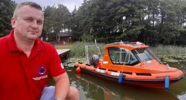 Łódź-karetka na naszych jeziorach