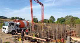 Postępy w budowie liszkowskiej oczyszczalni
