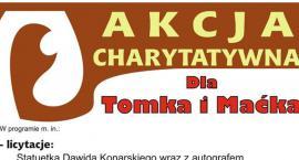 Akcja charytatywna dla Tomka i Maćka