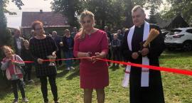 Poświęcenie placu w Kiełpinie