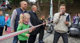 Otwarcie nowego placu zabaw w Łobżenicy