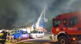 Pożar budynku mieszkalnego w Liszkowie[WIDEO]