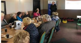 Spotkanie z seniorami w Radawnicy