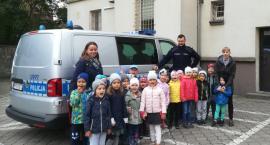 Przedszkolaki z wizytą w złotowskiej komendzie