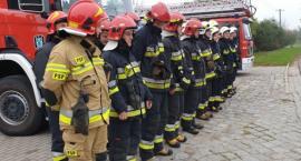 Strażacy ćwiczyli na poligonie