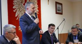 Marszałek Marek Woźniak w Zakrzewie