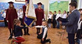 Ślubowanie uczniów klas pierwszych Zespołu Szkół w Tarnówce