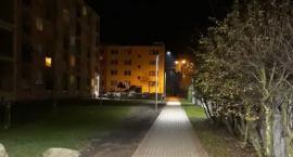 Nowe oświetlenie przy ul. Matejki w Złotowie