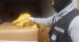 Ponad 3 tony nielegalnego tytoniu