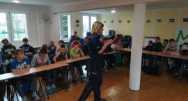 Policjanci rozmawiali o cyberprzemocy