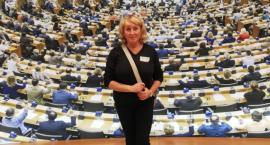 Katarzyna Józefowska na Kongresie Kobiet w Brukseli
