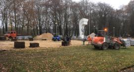 Remont cmentarza wojennego w Złotowie