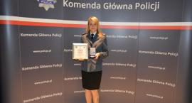 Policjantka złotowskiej komendy wyrózniona podczas gali Mistrzów Sportu
