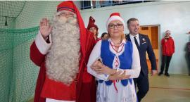 Wizyta Mikołaja z Finlandii w Krajence[WIDEO]