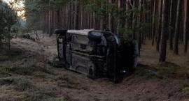 Wypadek na trasie Radawnica - Lędyczek