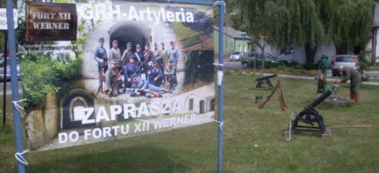 Imprezy historyczne, Artyleria Międzynarodowym Zlocie Historycznym Bolimów - zdjęcie, fotografia