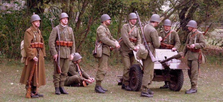 Imprezy historyczne, Łomianki kilka zdjęć - zdjęcie, fotografia
