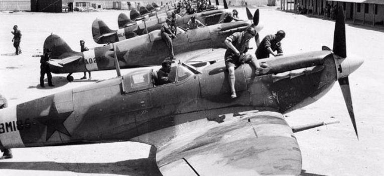 Lotnictwo samoloty , Białorusini chcą odnaleźć brytyjskie samoloty - zdjęcie, fotografia