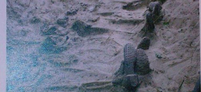 """Ekshumacje, Prace ekshumacyjne opisane numerze biuletynu Ochrony Pamięci Męczeństwa """" - zdjęcie, fotografia"""